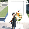 Arlington National Cemetery - Tomb Of The Unknown Soldier - 121214 by DC Photographer