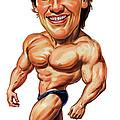 Arnold Schwarzenegger by Art
