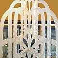 Art Deco Window Print by Diane Wood