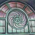 Asbury Park Carousel Window by Melinda Saminski