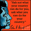 Ask Not What Your Country... by Scarebaby Design