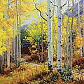 Aspen Cabin by Gary Kim