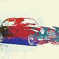 Aston Martin DB2 Print by Naxart Studio