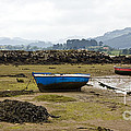 Asturias Seascape With Boats by Frank Tschakert
