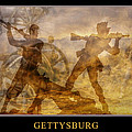 At A Place Called Gettysburg Poster by Randy Steele
