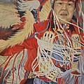 At The Powwow by Wanda Dansereau