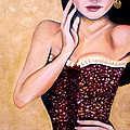 Aubergine Lace by Debi Starr