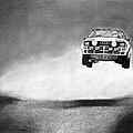 Audi Quattro Flying by Gabor Vida