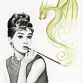 Audrey And Her Magic Dragon by Olga Shvartsur