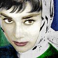 Audrey Hepburn by Tony Rubino