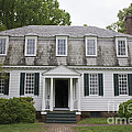 Augustine Moore House Yorktown Virginia by Teresa Mucha