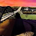 Austin 360 Bridge by Marilyn Hunt