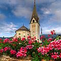 Austrian Church by Debra and Dave Vanderlaan