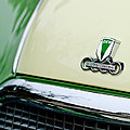 Auto Union Dkw Hood Emblem by Jill Reger