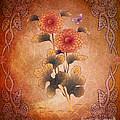 Autumn Blooming Mum by Bedros Awak