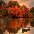 Autumn Canoe by Robin-lee Vieira