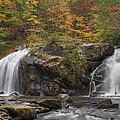 Autumn Cascades by Debra and Dave Vanderlaan