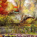 Autumn - House - On The Way To Grandma's House by Mike Savad