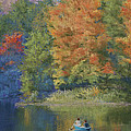 Autumn On The Lake by Marna Edwards Flavell