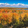 Autumn Vistas Of Nicolet Bay by Mark David Zahn