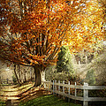 Autumn - Westfield Nj - I Love Autumn by Mike Savad