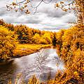 Autumn White Mountains Maine by Bob Orsillo