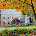 Auutmn At The Grist Mill by Michael Blanchette