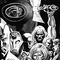 Avengers Ultimates Print by Ken Branch