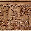 Aztec Woodcarving Tablets by Viktor Savchenko