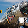 B-17 Flying Fortress Print by Adam Romanowicz
