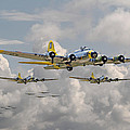 B17 486th Bomb Group by Pat Speirs