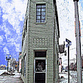 Baby Flatiron In River Rouge by MJ Olsen