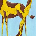 Baby Giraffe Nursery Art by Christy Beckwith