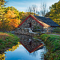 Back Of The Grist Mill by Michael Blanchette