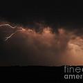 Badlands Lightning by Chris  Brewington Photography LLC
