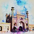 Badshahi Mosque Gate by Catf