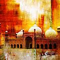 Badshahi Mosque Or The Royal Mosque by Catf