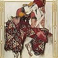 Bakst, Léon 1866-1924. La Péri. 1911 by Everett