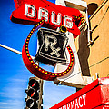 Balboa Pharmacy Drug Store Newport Beach Photo Print by Paul Velgos