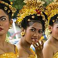 Balinese Dancers by David Smith