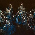 Ballerina Ghosts by Jani Freimann