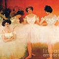 Ballerinas Resting by Pg Reproductions