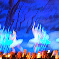 Ballet Dancers Abstract. by Oscar Williams