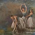 Ballet Dancers Print by Susan Bradbury