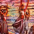Ballet On The Beach by Jeff Breiman