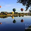 Balloons Heading East by Carol Groenen
