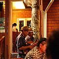 Band At Palaad Tawanron Restaurant - Chiang Mai Thailand - 01135 by DC Photographer
