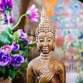 Bangkok Temple Buddha Print by Dean Harte