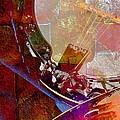 Banjo And Friend Digital Banjo And Guitar Art By Steven Langston by Steven Lebron Langston