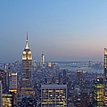 Bank Of America And Empire State Building by Juergen Roth